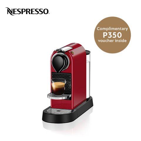 Nespresso Citiz Red