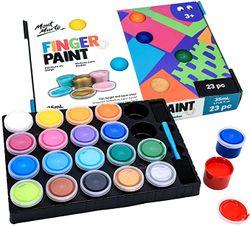 Mont Marte Finger Paint Set
