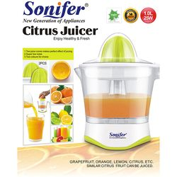 Sonifer SF 5514 Portable Citrus Fruit Hand Press Plastic Juicer