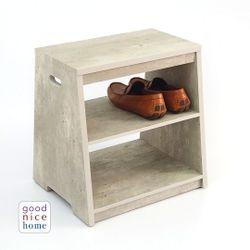 "Good Nice Home Shoe Shelf Stool (""Shtoolf"")"