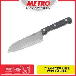 """METRO MKK 5686 7"""" SANTOKU PP HANDLE KNIFE"""