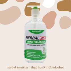 Bactakleen Herbal Plus Sanitizer 500ml