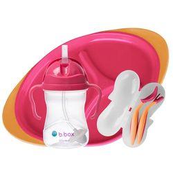 Tickled Babies B.Box Feeding Set - Strawberry Shake