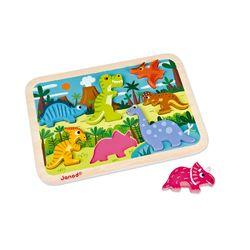 Janod - Dinosaurs Chunky Puzzle