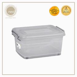 NEST DESIGN LAB Premium Stackable Storage Box w/ Wheels 90L