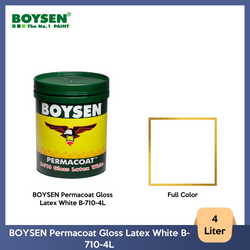 BOYSEN Permacoat Gloss Latex White B-710-4L
