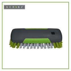 SCRUBZ Heavy Duty Cleaning Essentials Easy Grip Premium Multi-Purpose Brush 15cm X 6cm X 4cm