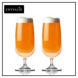 Crysalis Stemware 2pc Set Beer Goblet 13 oz.