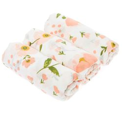 Lily Flower Swaddle - BabyStudio Swaddle Blanket