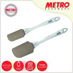 Metro MB 5547 2 pc Silicone Spatula