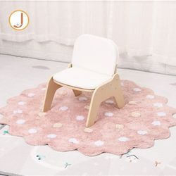 PU Leather Cushioned Sofa - Single Bench