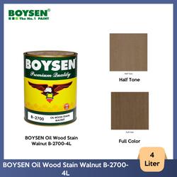 BOYSEN Oil Wood Stain Walnut B-2700-4L