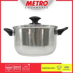 METRO MSPT 4746 16cm Stainless Steel Sauce Pot