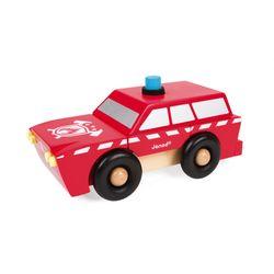 Janod - Magnetic Fireman SUV