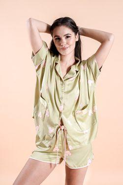 Intissimo Mika Terno Pajama Silk Sleepwear Shorts