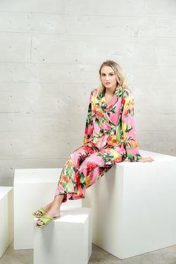 Mulberry Silk Printed Pajama Allison