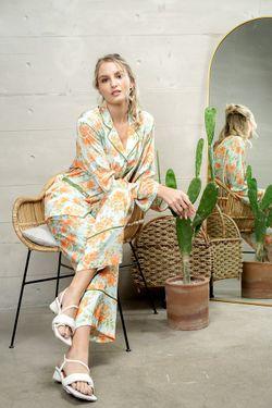 Mulberry Silk Printed Pajama Eleanor