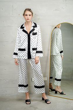 Mulberry Silk Printed Pajama Margaret