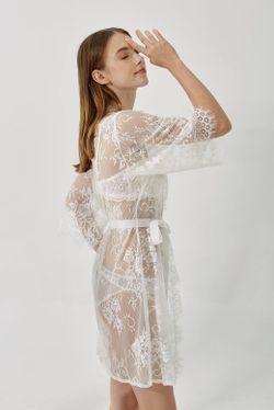 Intissimo Fiona Lace Bridal Robe