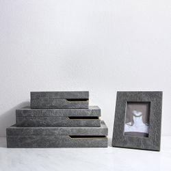 Dark Grey Box Decor Small LA-2003