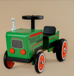 Ride-on Wooden Tractor