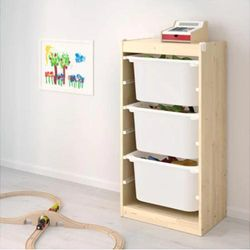 Kids Minimalist Storage Shelf (Vertical)