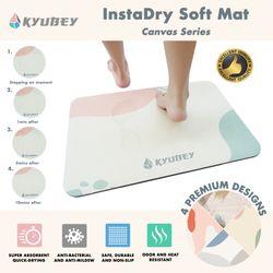 Kyubey InstaDry Soft Mat - Canvas Series