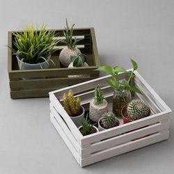 Garden and Kitchen Storage Basket Gray
