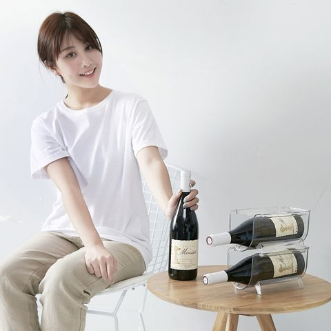 Stackable Transparent Wine Holder
