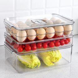 Fridge 24pc Egg Tray with Lid