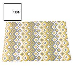 Diamond woven cotton area rug carpet 120*180cm