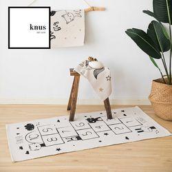 Hopscotch kids room area rug play floor mat 70*140cm