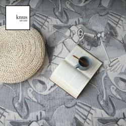 SOUL Artistic Gray oven cotton area rug carpet 120*180cm