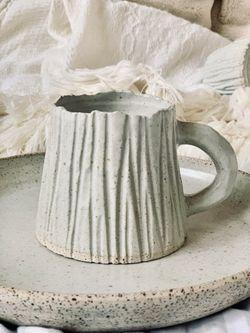 Pinas Sadya Barnacle Stoneware Mug with Zambales Sands