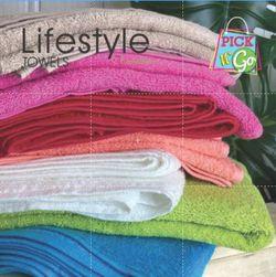 Lifestyle by Canadian Towel Pick N' Go 69 Set Bath Fingertip Face