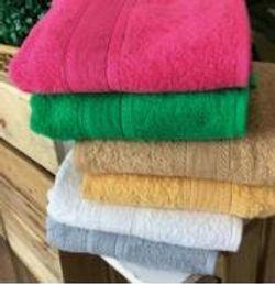 Lifestyle by Canadian Series 253 Basic Cotton  Set 1pc Bath 1pc Fingertip 1pc Face