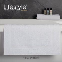 "Lifestyle by Canadian 18 SL Frame Bathmat 20x30"""