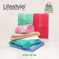 """Lifestyle by Canadian Towel Pick N' Go #88 Pack of 4 Face 12""""x12"""""""