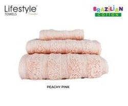 Lifestyle by Canadian 103-Brazilian Cotton Towel - Set (Bath/Hand/Face)