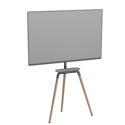 Dusty Cloud Sutton 45 to 65 inch TV Easel with Tray