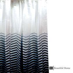 Beautiful Home Fabric Shower Curtain