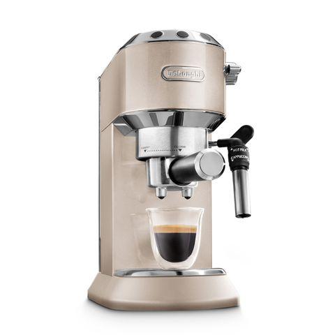 DeLonghi Pump Driven Espresso Maker  Dedica Metallic EC785