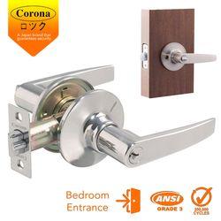 Corona Entrance Keyed Lever Lock (Stainless Steel)