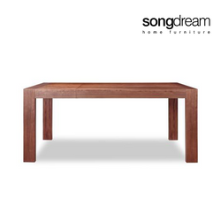 Stretch Dining Table 6-8 Seater Natural Walnut