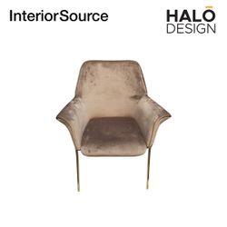 Halo Design Athena Dining Chair Light Brown