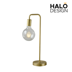 Ophra Table Lamp Gold  with bulb