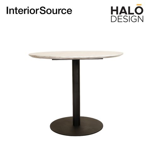 Halo Design Queen Dining Table White Top