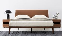 Gap P.U Leather Bed Queen Size