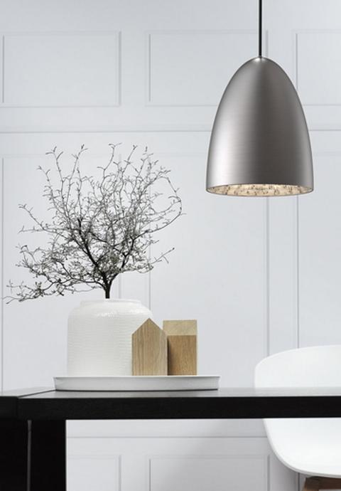 Nordlux Nexus Pendant Lamp Brushed Steel