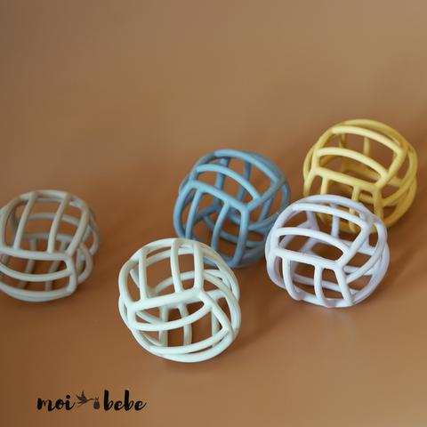 Moi Bebe Silicone Teether Balls